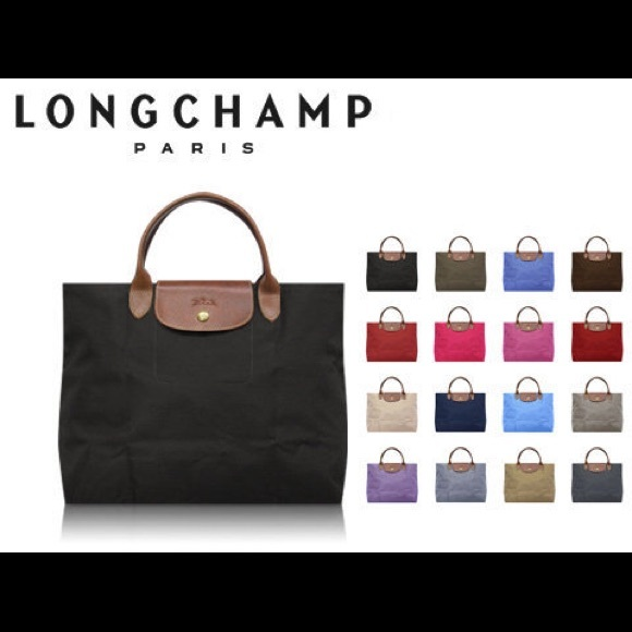 Longchamp Le Pliage Cabas Open Tote